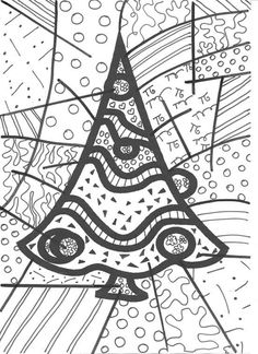 Sapin 2 School Art Projects, Art School, Diy And Crafts, Crafts For Kids, Arts And Crafts, Preschool Christmas, Christmas Crafts, Art Plastique, Colouring Pages