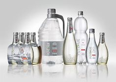 Puyehue Mineral Water on Packaging of the World - Creative Package Design Gallery Water Packaging, Water Branding, Bottle Packaging, Mineral Water Brands, Organic Water, Water Bottle Design, Packaging Design Inspiration, Design Packaging, Product Packaging