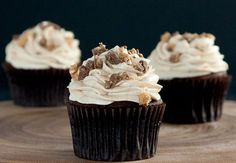 Sweet potato cupcakes with peanut butter frosting - Women's Health and Fitness Magazine