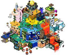 pixel Mario 4