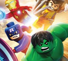 Lego Marvel Character Renders And Level Concepts....I AM SO EXCITED
