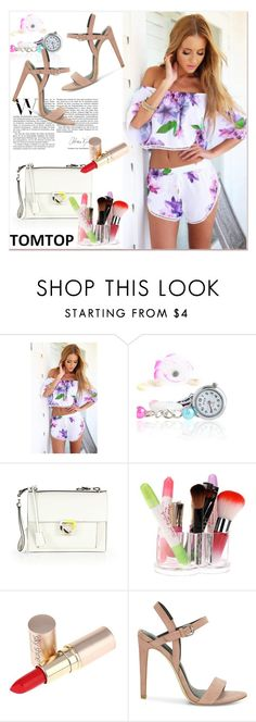 """TOMTOP +1"" by lejla-7 ❤ liked on Polyvore featuring Salvatore Ferragamo, Rebecca Minkoff, tomtop and tomtopstyle"