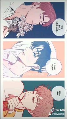 Handsome Anime Guys, Cute Anime Guys, Anime Films, Anime Characters, Bl Webtoon, Anime Boy Sketch, Dream Anime, Animes Yandere, Anime Wallpaper Live