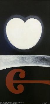 Colin McCahon - Auckland Art Gallery Acrylic on board Auckland Art Gallery, New Zealand Art, Nz Art, Maori Art, Kiwiana, American Artists, Visual Identity, Traditional Art, Love Art
