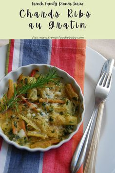 Chards ribs au gratin Winter Recipes, Spring Recipes, Ribs, What Recipe, Vegetarian Entrees, Baby Blog, Winter Food, Health And Nutrition, Vegetable Recipes