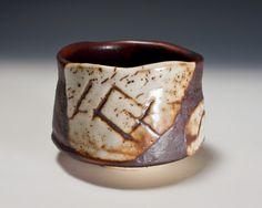 Aka Shino Tea Ceremony Bowl by Suzuki Tomio