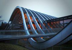 Renzo Piano's Zentrum Paul Klee in Bern, Switzerland