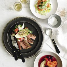 Jo Pearson prepares a simple yet impressive three-course dinner for six - Gluten Free.and it sound easyish! Gluten Free Recipes, Healthy Living, Pork, Canning, Dinner, Simple, Places, Kitchens, Kale Stir Fry