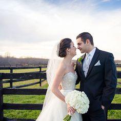 Lazaro beaded sweetheart wedding dress (Laura Leigh Photo)
