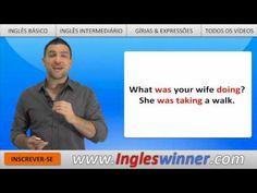 Mais uma video aula do curso de inglês do canal ESLWINNER. Desta vez aprenderemos a falar sobre o passado em Inglês quando queremos falar o que estávamos fazendo