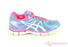 GT 2000 D JEN BLUE WHITE SHARP | Asics Shoes | The Athletes Foot, available from Nov. 2012, $199