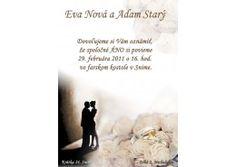 Svadobné oznámenie - SV006