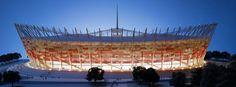 Warsaw euro football stadium facebook cover