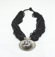 Om Pote Beads Necklace