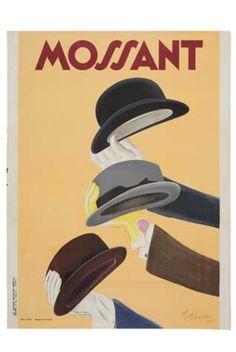 """""""Mossant"""" - Leonetto Cappiello, 1935"""