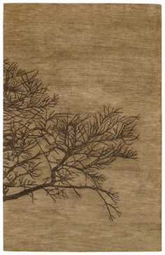 Graphique-Shadow Branch Bark Rugs - Capel Rugs