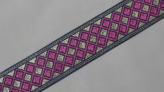 """3 Yd Jacquard Trim 1.20"""" wide Woven Border Sew Embroidered Ribbon Lace T793 #SewOn Sewing Trim, Friendship Bracelets, Ribbon, Lace, Ebay, Tape, Treadmills, Fabric Sewing, Band"""