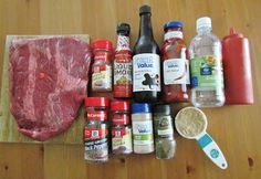 The Country Cook: BBQ Beef Brisket {Slow Cooker}