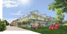 Escuela en Reggio Emilia - vista general