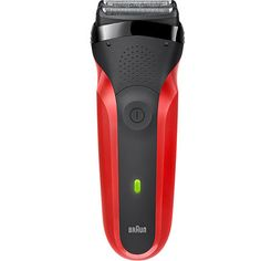 Braun Series 3 Rechargeable Electric Foil Shaver Red Foil Shaver, Product Design, Electric, Type, Products, Gadget