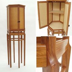Crafted by Oden artisan Rob Brown. Rob Brown, Quality Furniture, Bar Stools, Whiskey, Artisan, Objects, Cabinet, Inspired, Luxury