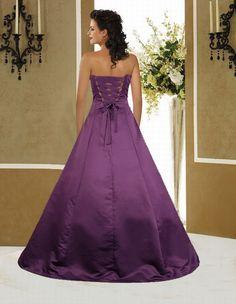 Excellent Purple Wedding Dress Photograph Current Gallery