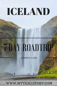 Circle around the entire island of Iceland in 7 days in this roadtrip itinerary