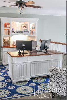 Home Office Decorating Ideas with Unskinny Boppy