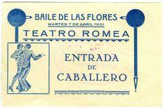 Visor Archivo General Región de Murcia. FOT_POS,06/199 / Entrada de caballero al Baile de las Flores en el Teatro Romea.