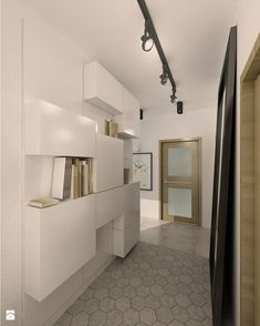 Hol / Przedpokój styl Skandynawski - zdjęcie od Archomega Biuro Architektoniczne - Hol / Przedpokój - Styl Skandynawski - Archomega Biuro Architektoniczne