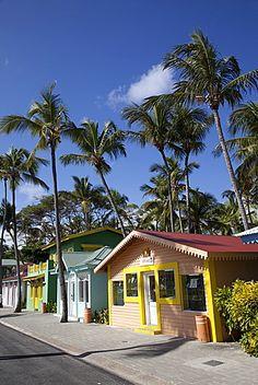 Calle Riu Caribe, Playa Bávaro, Punta Cana, República Dominicana, Antillas, Caribe, América Central