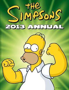 The Simpsons - Annual 2013 by Matt Groening, http://www.amazon.co.uk/