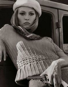 "Faye Dunaway in ""Bonnie and Clyde"" (1967)"
