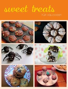 sweet treats for your Halloween Party