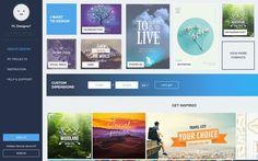Crello es una plataforma web gratuita, similar a Canva, para crear todo tipo de imágenes profesionales de forma rápida y sencilla.