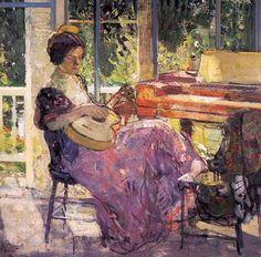 Girl with guitar (1926), Richard Emil Miller