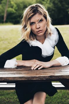 Clémence Poésy for French label, Pablo