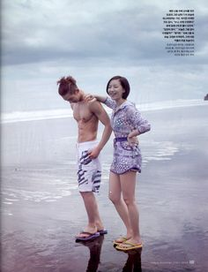 2AM Jo Kwon and Brown Eyed Girls Ga In - InStyle...