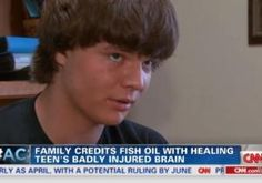 With their teenage son in a coma, a California family was willing to try anything to bring him back. And with a new type of treatment, their son has made a miraculous recovery — thanks to fish oil.