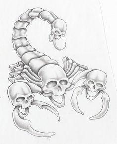 scorpion by markfellows.deviantart.com on @DeviantArt