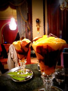 #BucketList - Ice Cream at famous old-style patisserie and tea room #Gerbeaud in the city centre of Budapest, Hungary