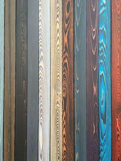 SHOU SUGI BAN colors charred wood: