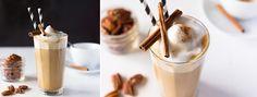 """Pumpkin Spiced Latte Ingredients: Serves One  20g WOMEN'S BEST """"SLIM BODY SHAKE"""" Powder - Cookie & Cream 100ml low-fat Milk 50g all-natural Pumpkin Puree 1"""