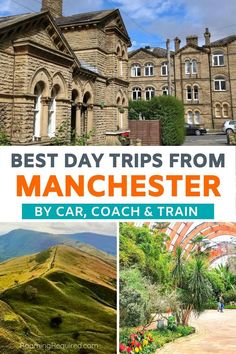 Explore more of the UK with one of these great day trips from Manchester. English countryside with quaint villages, historic landmarks, castles & more.  Best day trips from Manchester by train | Best day trips from Manchester by car | Best day trips from Manchester by coach | Best day trips from Manchester | Best places to visit near Manchester | Best things to do near Manchester | Day trips from Manchester | Manchester Day Trips #Manchester #daytrips #travel #iRoamToo #RoamingRequired Manchester Day, Manchester Piccadilly, Travel Ideas, Travel Inspiration, Travel Tips, Yorkshire Dales, By Train, Travel Articles, English Countryside