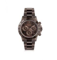 MAD Customized Watches Customized Rolex Chocolate Racing Daytona Men's Watch
