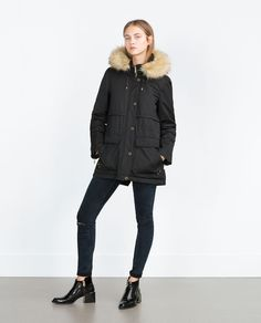 ZARA - WOMAN - SHORT QUILTED JACKET
