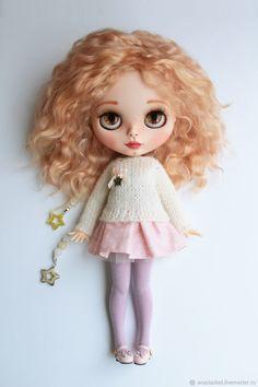 Купить или заказать Кукла Блайз Ева Blythe Doll в интернет магазине на Ярмарке Мастеров. С доставкой по России и СНГ. Материалы: трессы натуральные, пастель сухая,…. Размер: 30 см