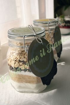 Biscotti in Barattolo (Cookies in a Jar)