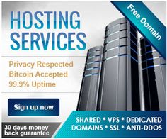 Dedicated server bitcoin accepted f b