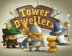 Tower Dwellers is a fusion of Tower Defense and Real Time Strategy with Unit Crafting mixed in. The player builds towers along the road. Each tower spawns units that can be moved around. Support structures built next to towers determine what unit comes ou…